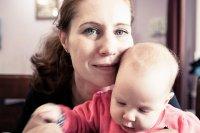 kobieta na urlopie macierzyńskim