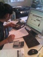 Praca przed komputerem